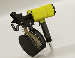Nail Gun 3D model