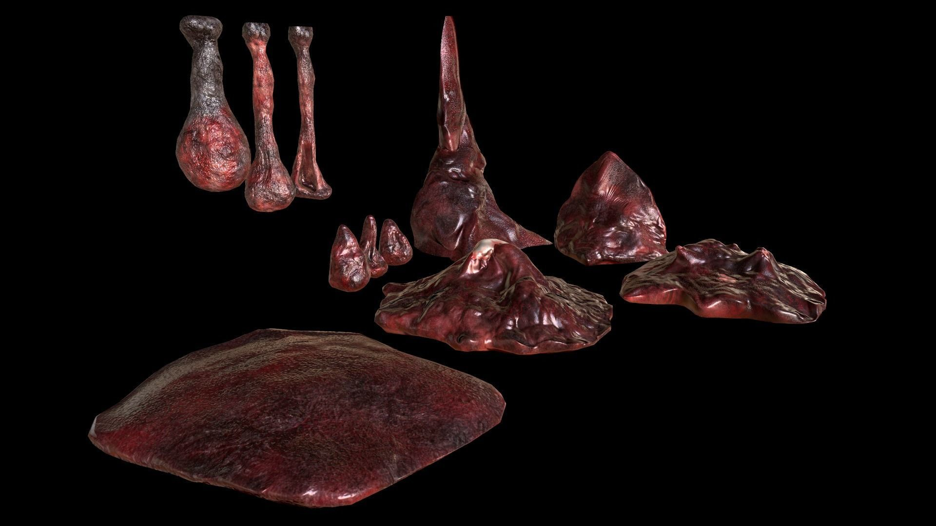 Horror Prop - Cocoon stench Animated