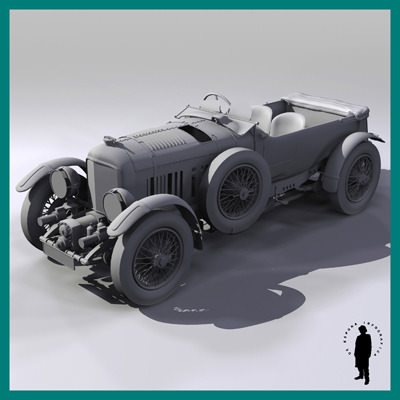 BENTLEY 1930 4.5 LITRE ...