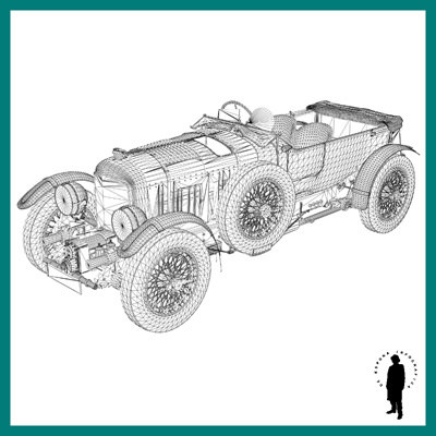BENTLEY 1930 4.5 LITRE ... 3D Model .max