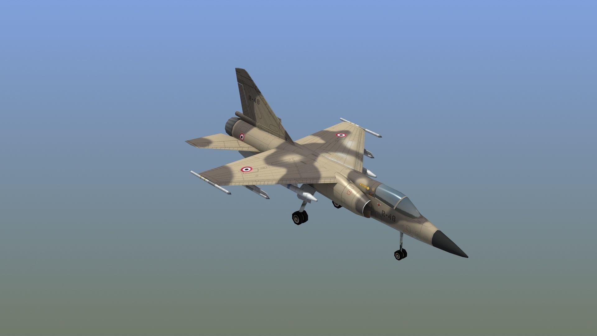 Mirage F1C Fighter Jet