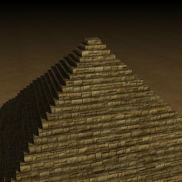 Egyptian Pyramid D Model C F B C E D B A Dab A B