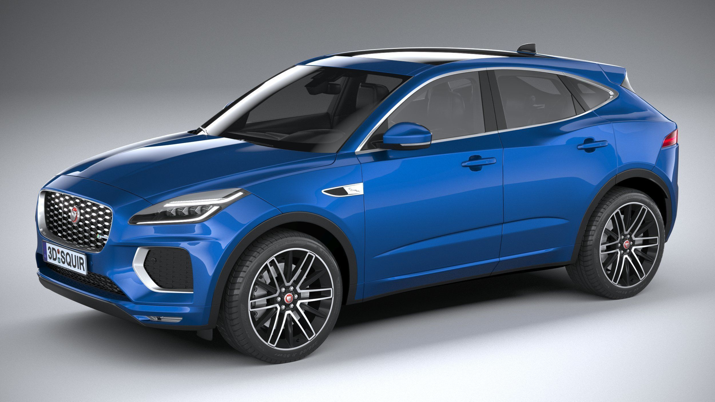 3D model Jaguar E-Pace R-Dynamic 2021   CGTrader