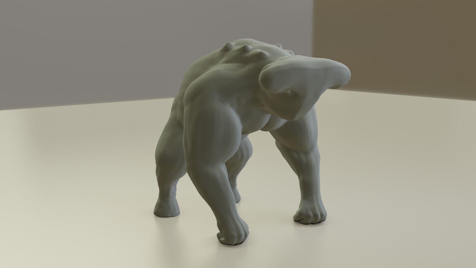 Creature Monster Goralien - 3d Print