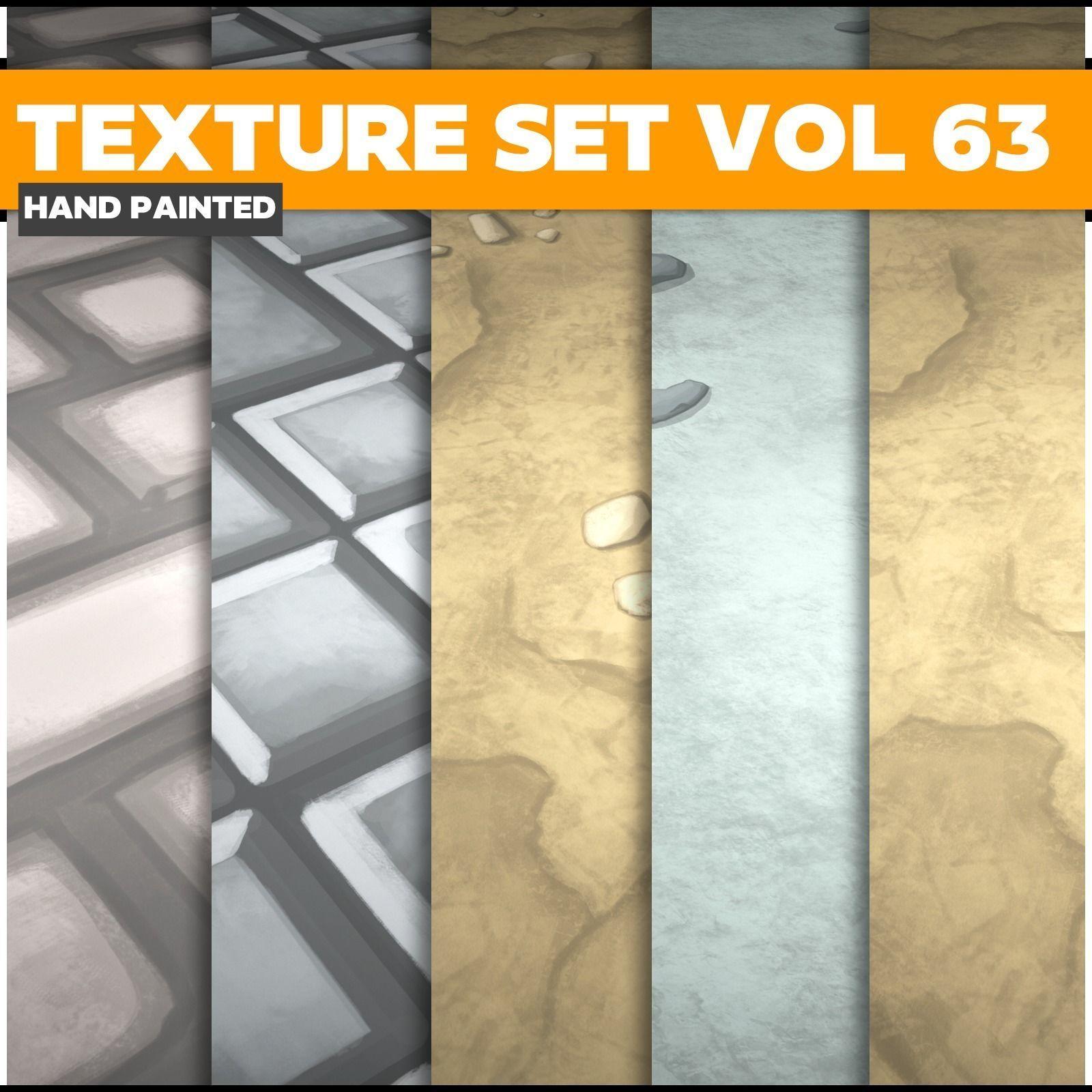 Floor Vol 63 - Game PBR Textures