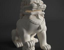 3D FOO DOG