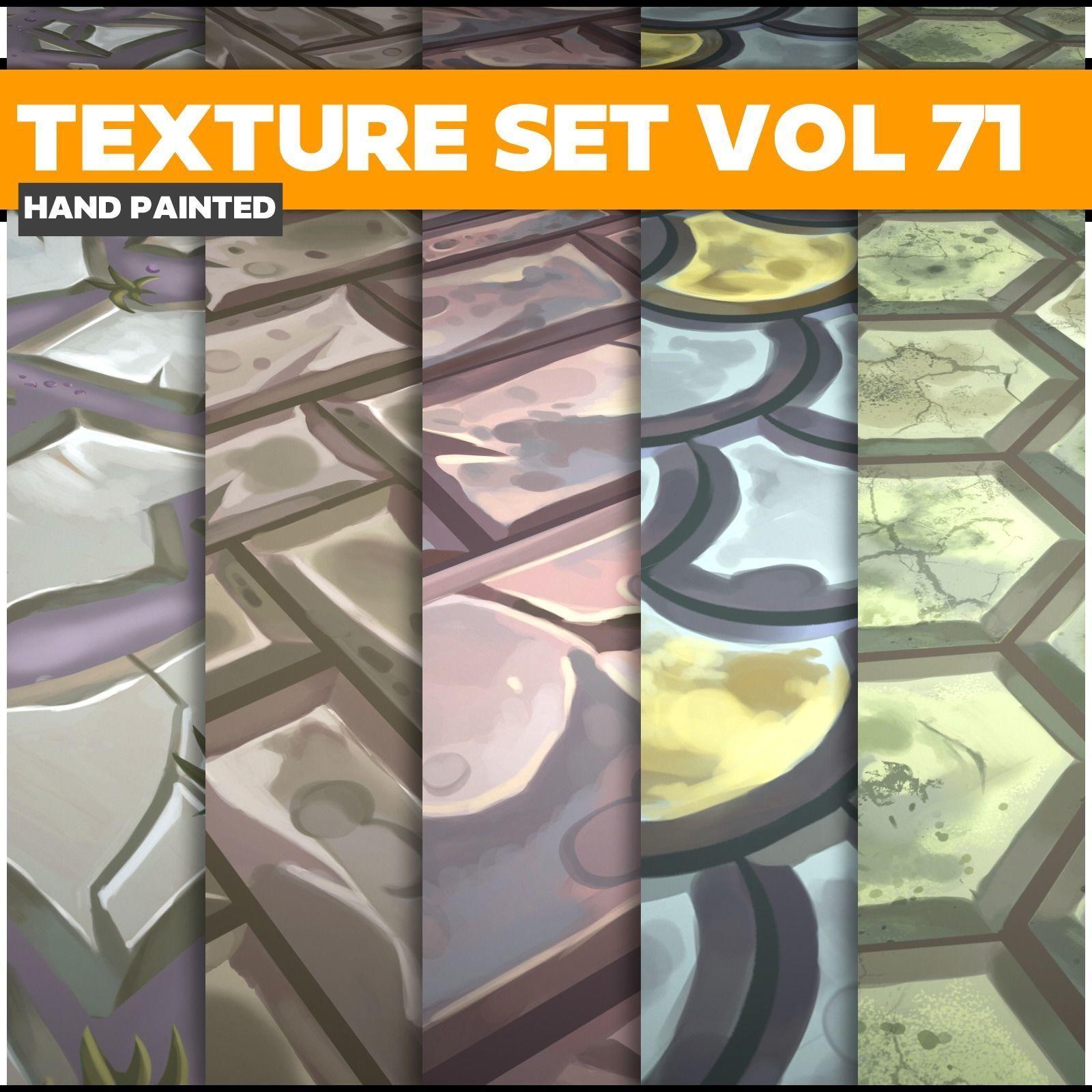 Mix Vol 71 - Game PBR Textures
