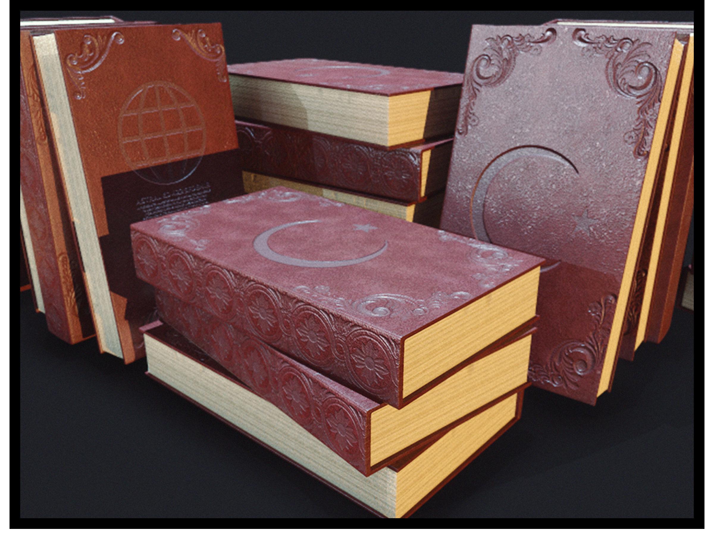 Turkish Old Book PBR