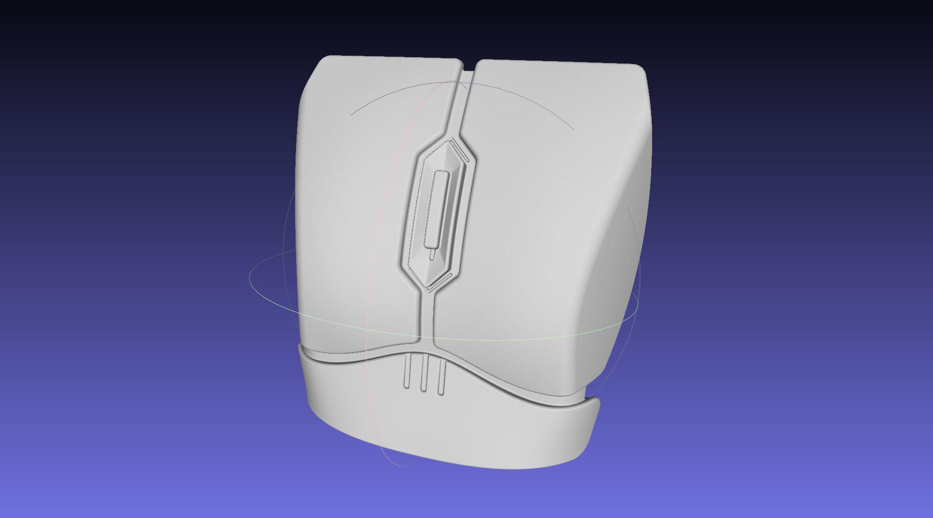 Star Wars The Mandalorian Bo-Katan Chestplate Printable Model