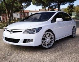 Honda Civic 2009 3D Model