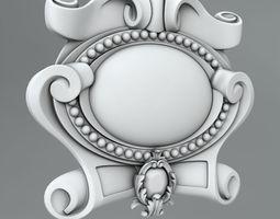 3D model Cartouche