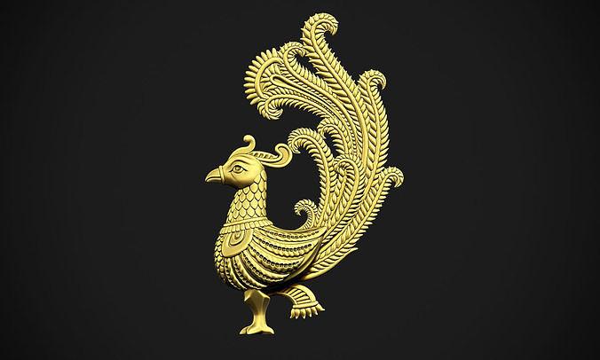 Indian Peacock Design