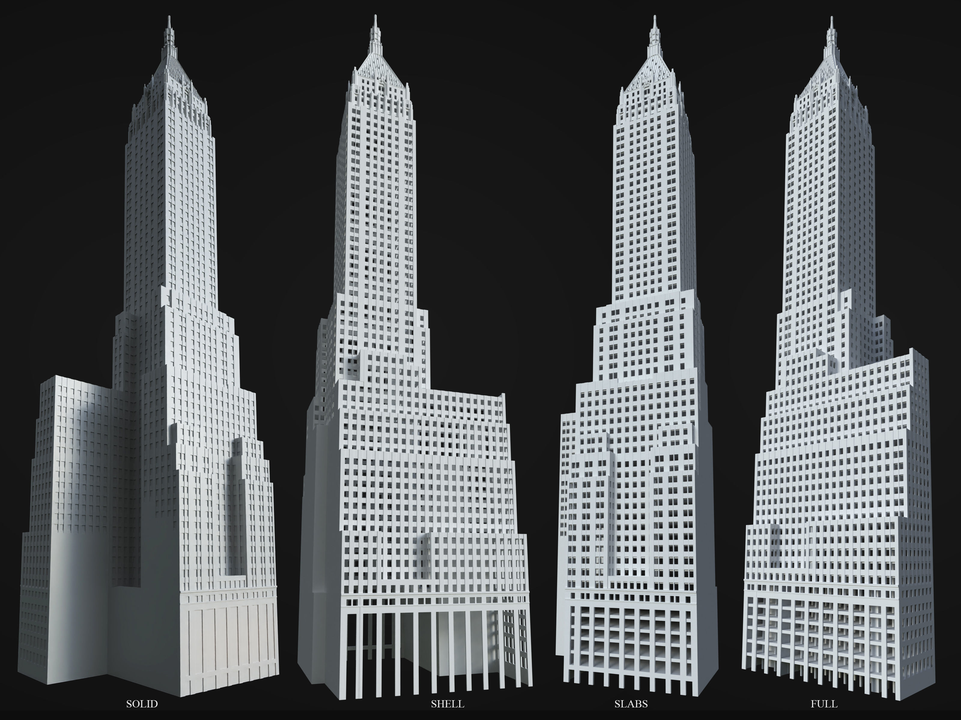 40 Wall Street - The Trump Building - Printable