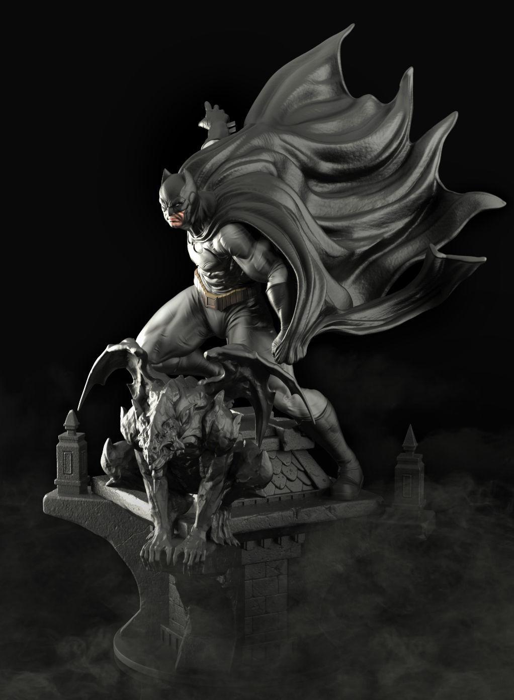 Batman Figure - Ready to print
