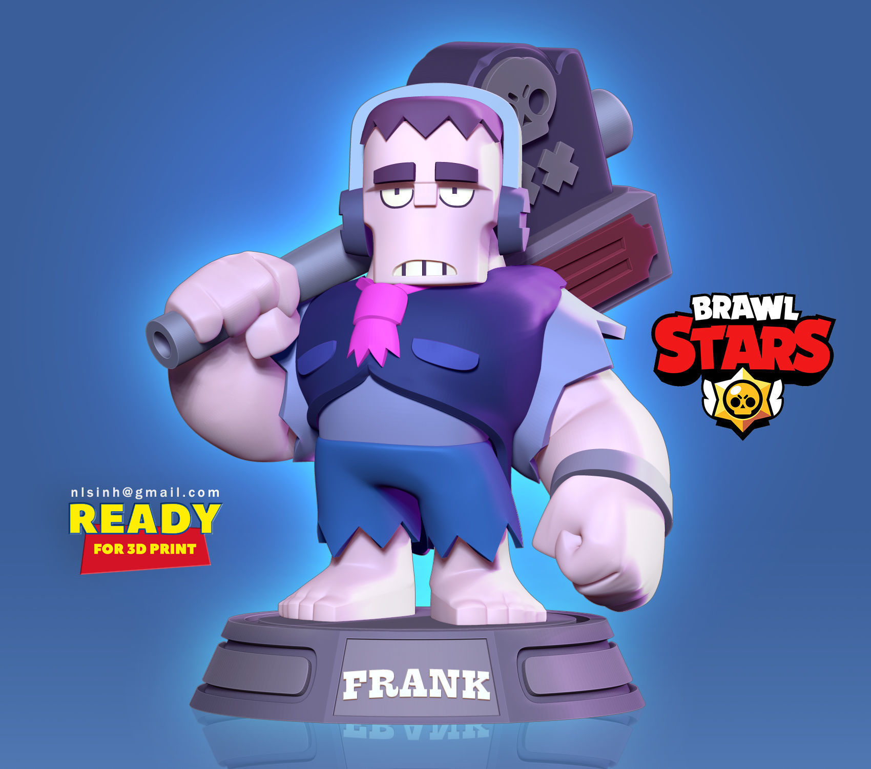 Frank - Brawl Stars Fan art