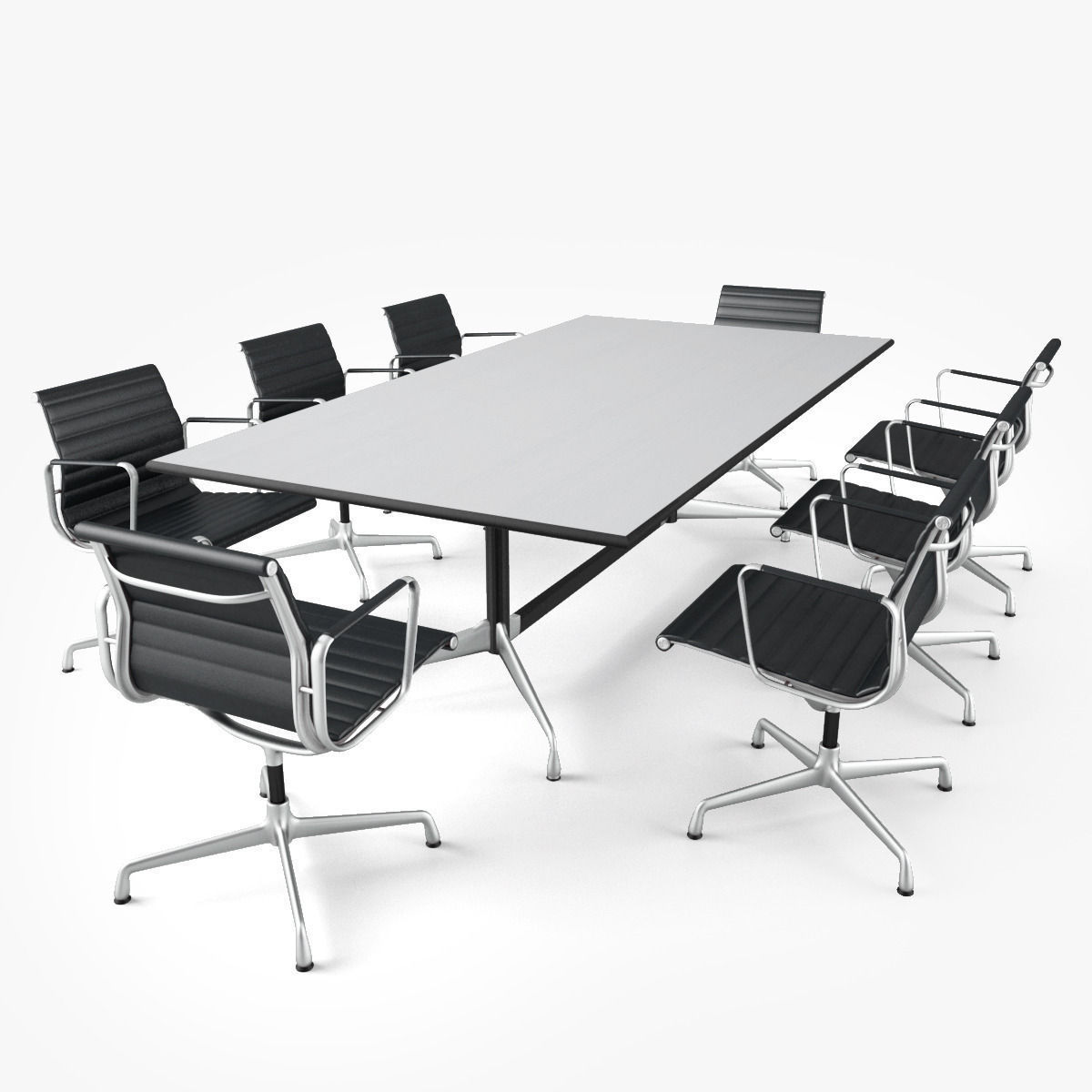 Meeting room furniture 01 3d model max obj fbx mat 1  Meeting Room Furniture 01 3D   CGTrader. Meeting Room Table And Chairs. Home Design Ideas