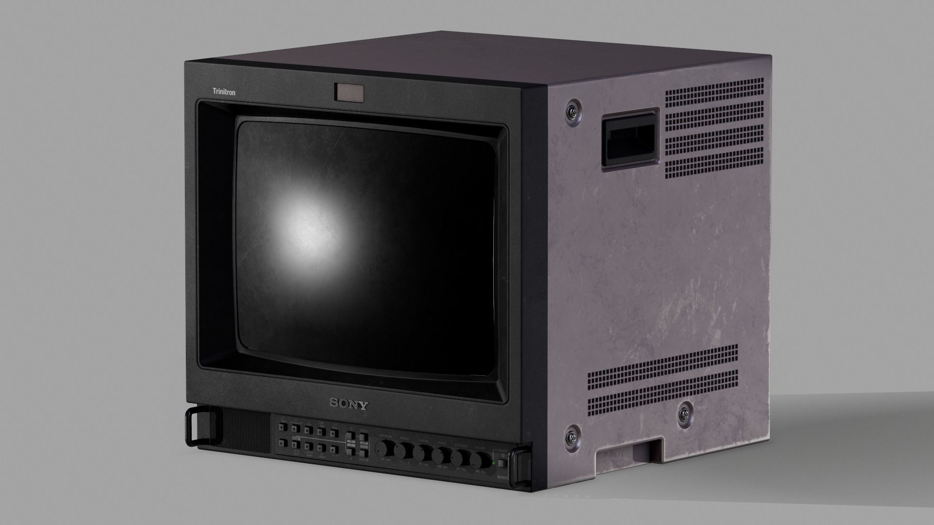 Sony Trinitron TV Set