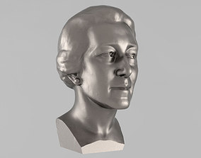 Printable bust of woman