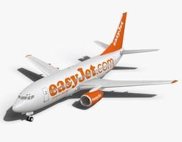 easyJet Boeing 737-700 3D Model