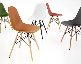 Vitra DSW Chair 3D model