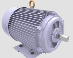 3D engine Electric Motor