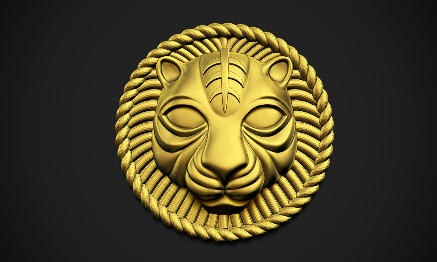 Lion Rounded