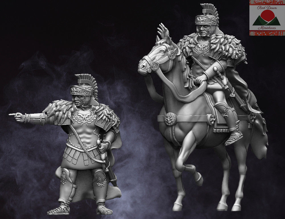 28mm EI Roman Commander