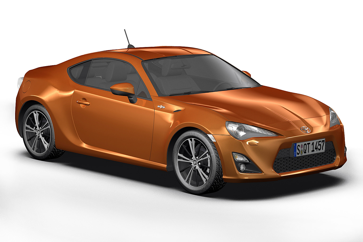 2013 toyota gt 86 3d model max obj 3ds fbx c4d lwo lw lws. Black Bedroom Furniture Sets. Home Design Ideas