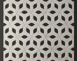 panel lattice grille 3d 23