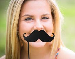 mustache mustache stick 07 3d printable model