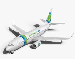 Transavia Boeing 737-700w 3D Model