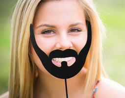 Beard stick beard 3D printable model