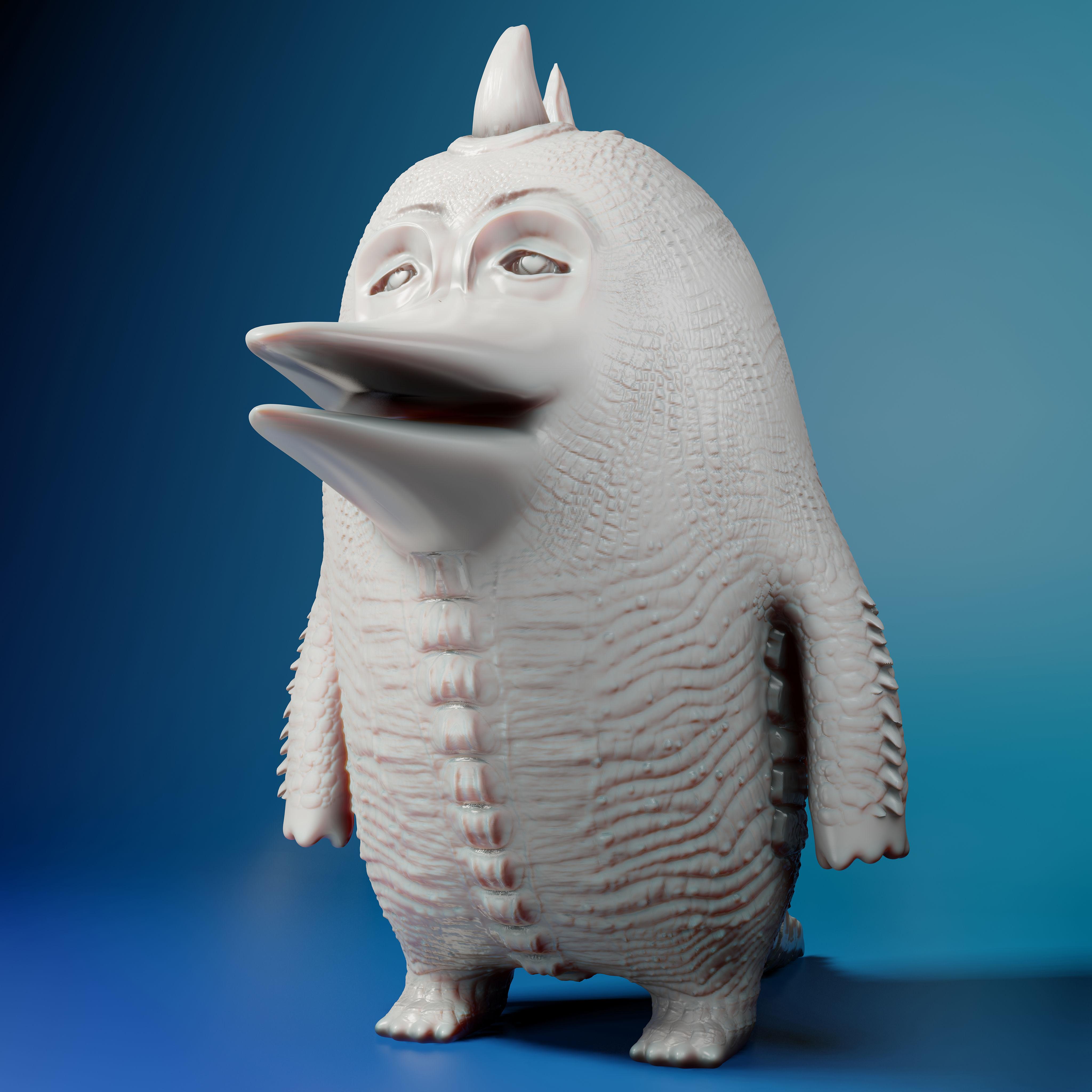 Duckzilla 3D Print Model