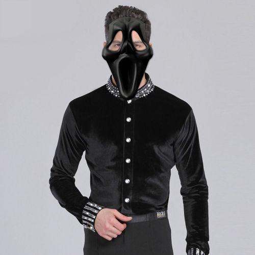panic mask 3d model obj mtl 1