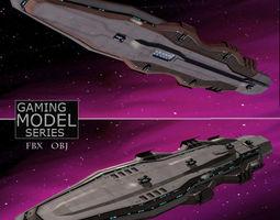 3D asset Battle Cruiser LP
