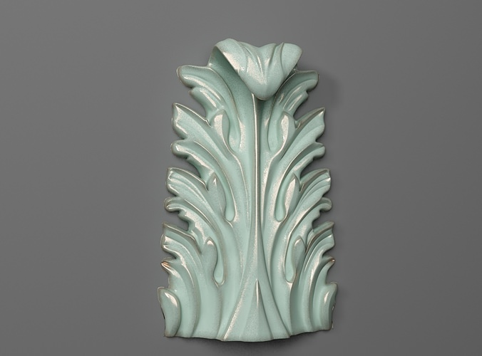 Decor vertical 07 3d model 3d printable stl for 3d model decoration