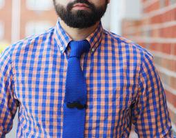 Mustache Clip 3D print model fashion