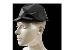 lowpoly trilby hat 3d print model