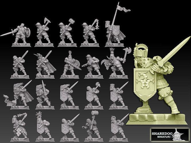 Medieval Knights Megapack