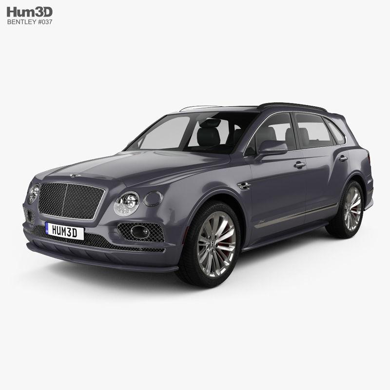 Bentley Bentayga Speed US-spec 2020