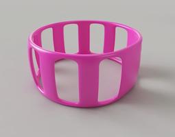 3D printable model Bangle Windows