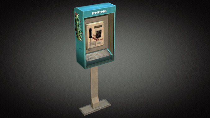 Phonebooth 013D model