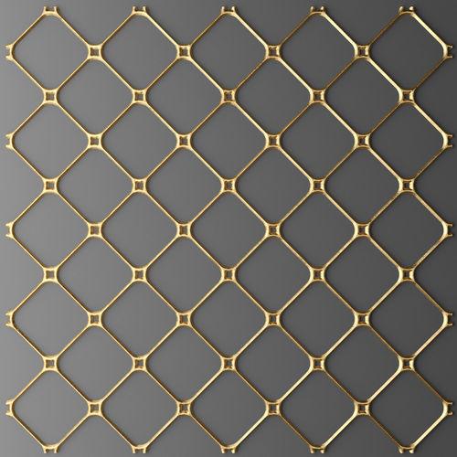 panel lattice grille 3d 26 3d model max obj mtl fbx unitypackage prefab 1