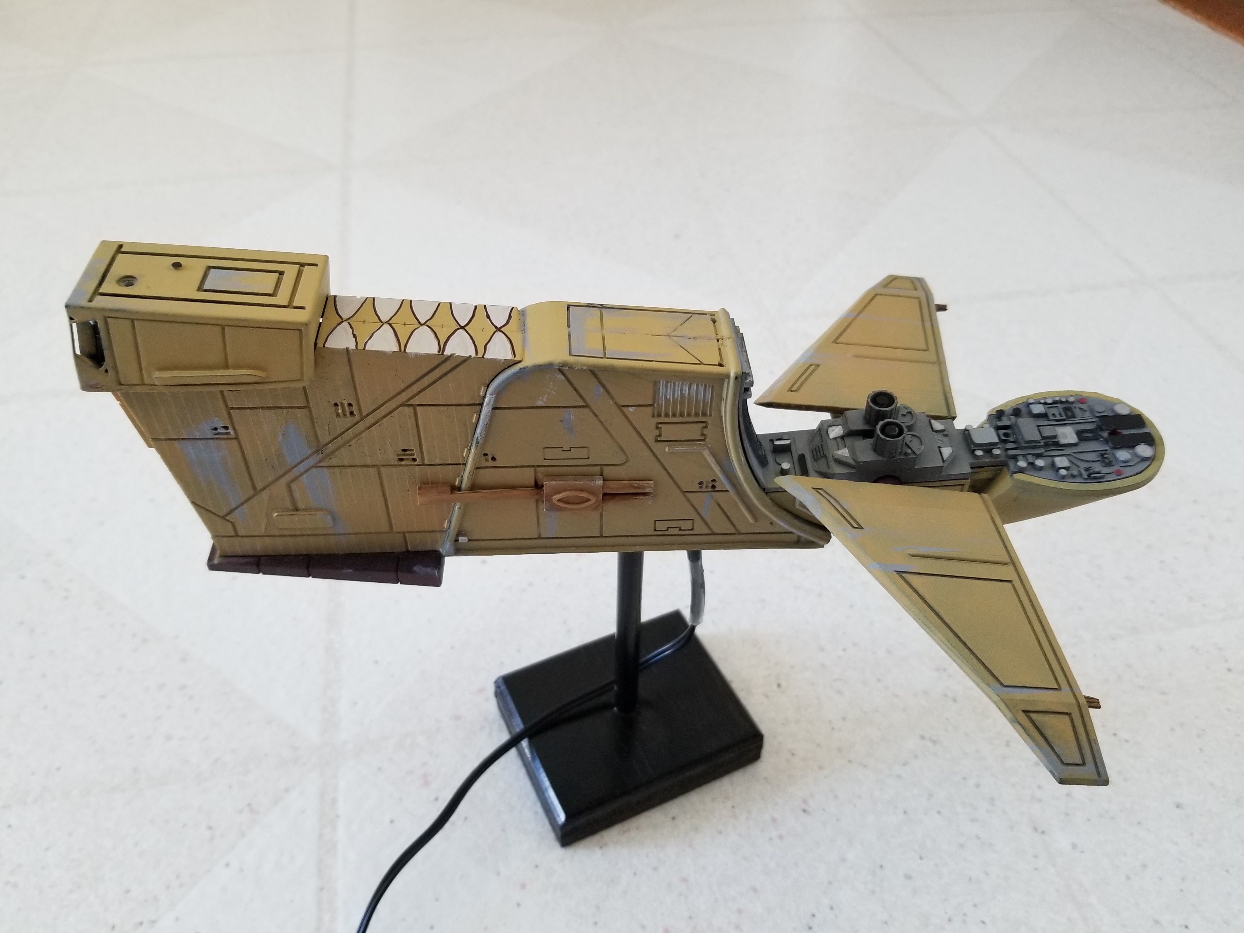Star Wars - Hounds Tooth Ship Bossk Bounty Hunter