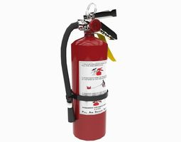 3d asset realtime fire extinguisher