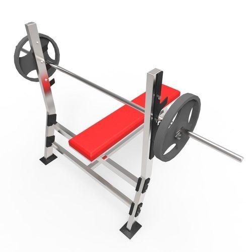 weight bench 3d model fbx ma mb 1
