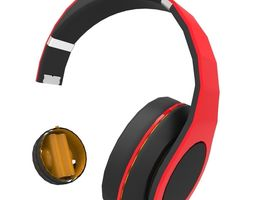 headphones game-ready 3d model