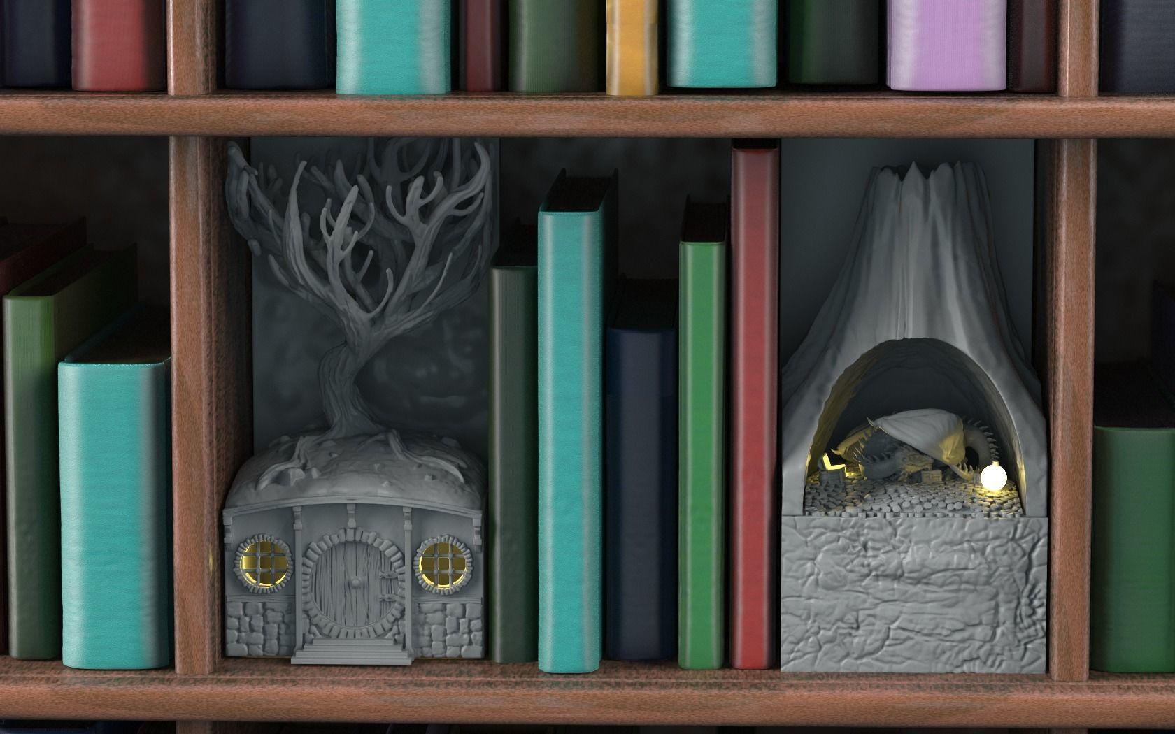 Fantasy Bookend