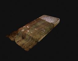 mattress 3d asset VR / AR ready