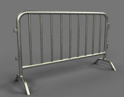 3D Metal Barrier